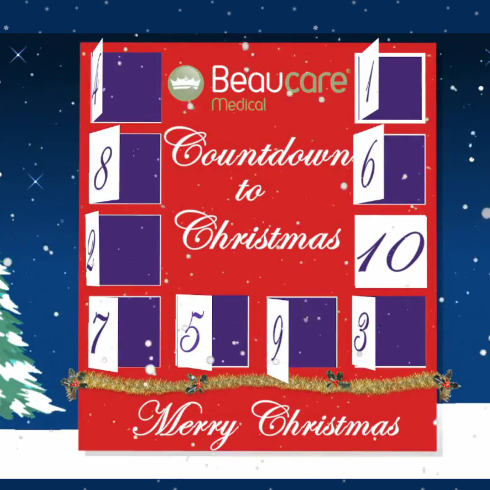 xmas countdown beaucare medical